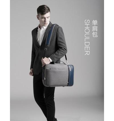 4 in 1 Anti thief Waterproof Men backpack handbag shoulder bag password suitcase