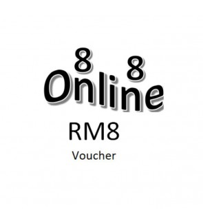 RM8 Next Purchase Voucher for Purchase Above RM200