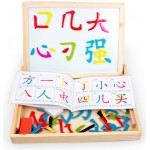 <Ready Stock M'sia> Kid Learning Mandarin Word DIY method Whiteboard chalkboard Puzzle Learning Chinese
